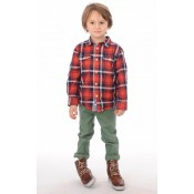 Blackstone Chaussures Cuir Enfant Cognac