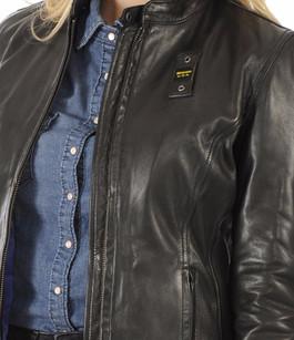 super populaire 1ae3c ef79d Blauer Blouson Cuir Esprit Motard Femme Noir Pas Cher Paris