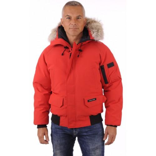 veste canada goose rouge homme