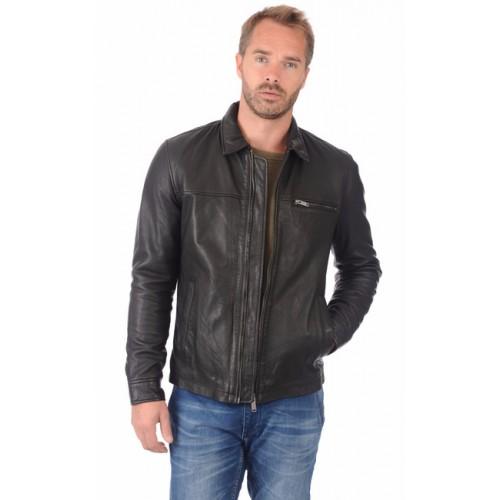 Vente privee veste en cuir