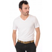Chevignon Ceinture Cuir Nubuck Taupe Homme Taupe