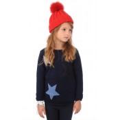 Hpi Bonnet maille & fourrure Enfant Rouge