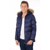 Pyrenex Doudoune Authentic Jacket Garçon Enfant Bleu Marine