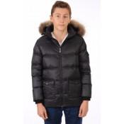 Pyrenex Doudoune Authentic Jacket Garçon Enfant Noir