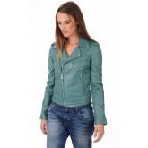 Schott Perfecto LCW1601D Vert Femme Vert